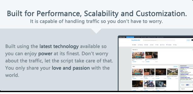Script multimédia premium